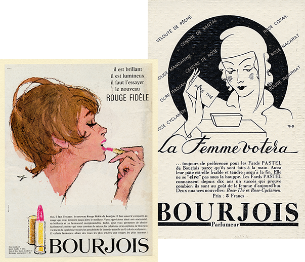 BOURJOIS SUPPORT FOR THE EMANCIPATION OF WOMEN