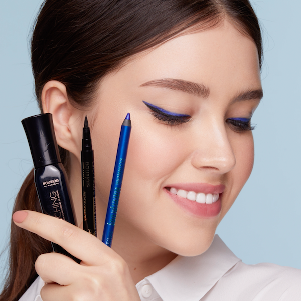 Make waves with a blue liner