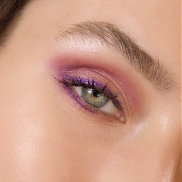 Step By Step for Charming Purple Eyes