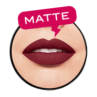Matte & intense colour