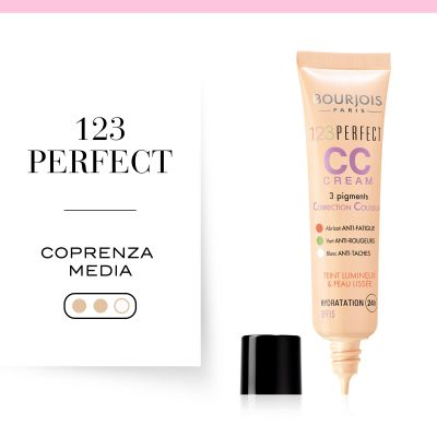 1,2,3 Perfect CC Cream. 32 Light Beige
