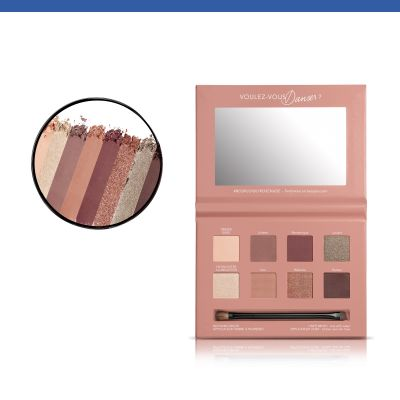 Beau Regard Paleta cieni do powiek 01 Rose Nude Edition