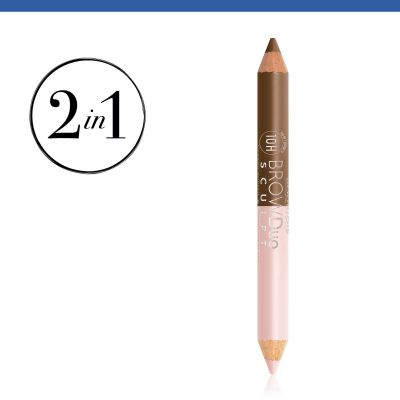 Brow Duo Sculpt. 22 Chatain