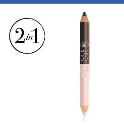 Brow Duo Sculpt. 23 Brun