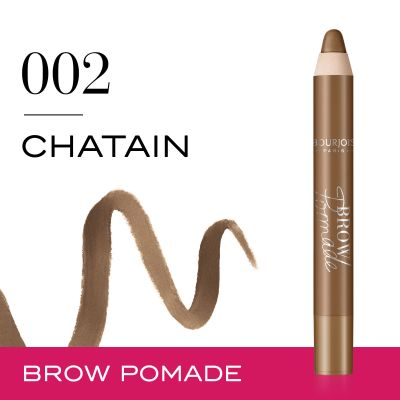 Brow Pomade. 02 Chatain