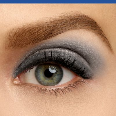 Cień do powiek 1 Seconde Eyeshadow 01 Black on Track