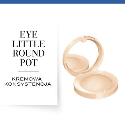 Cień do powiek Little Round Pot Bourjois - 01 Ingénude