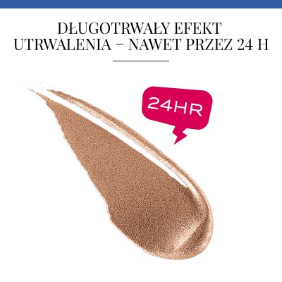 Cień do powiek w kremie Satin Edition 24 H Bourjois - 04 Abracada'brown