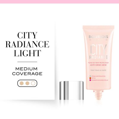 City Radiance Foundation 01 Rose Ivory