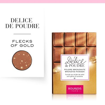 Delice De Poudre Bronzing Powder Powder 51 Light/Median Complexions