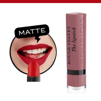Rouge Velvet The Lipstick. 18 Mauve-martre