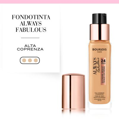 Fondotinta Always Fabulous Liq 210