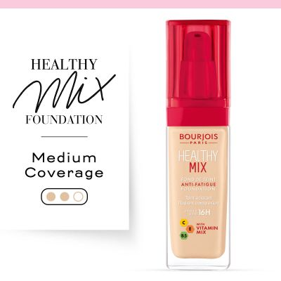 Healthy Mix Anti-Fatigue Foundation 50 Rose Ivory
