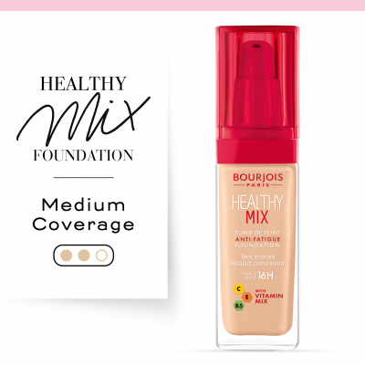 Healthy Mix Anti-Fatigue Foundation. 52,5 Beige rosé / Rose Beige