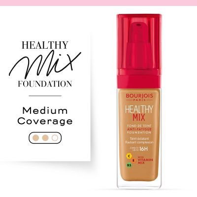Healthy Mix foundation shade extension . Foundation. 57,5 Caramel doré / Golden Toffee