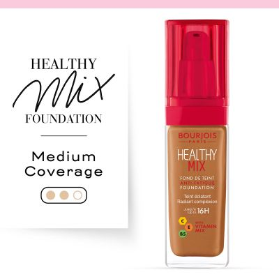 Healthy Mix foundation shade extension . Foundation. 61 Golden / Doré Cappucino