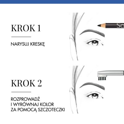 Kredka do brwi Sourcil Precision Bourjois - 03 Chatain