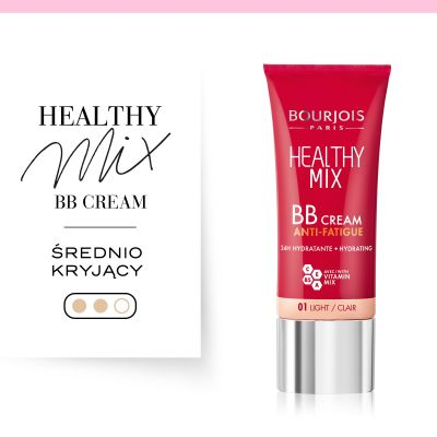 Krem BB Healthy Mix Bourjois - 01 Light/ clair