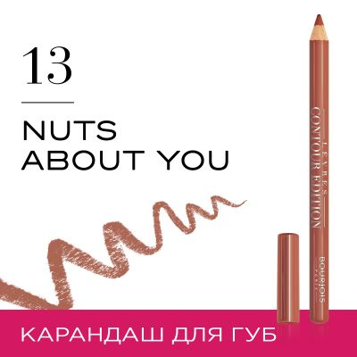 Lèvres Contour Edition. 13 Nuts about you