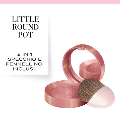 Little Round Pot. 15 Rose éclat