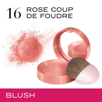 Little Round Pot. 16 Rose coup de foudre