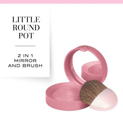 Little Round Pot Blusher Blusher 48 Cendre De Rose Brune