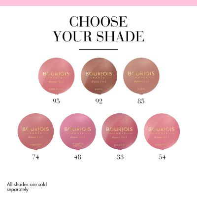 Little Round Pot Blusher Blusher 54 Rose Frisson