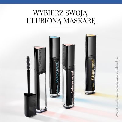 Tusz do rzęs Volume Reveal Bourjois - 22 Ultra Black