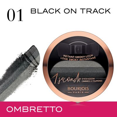 Ombretto 1 Second - 01 Black on track