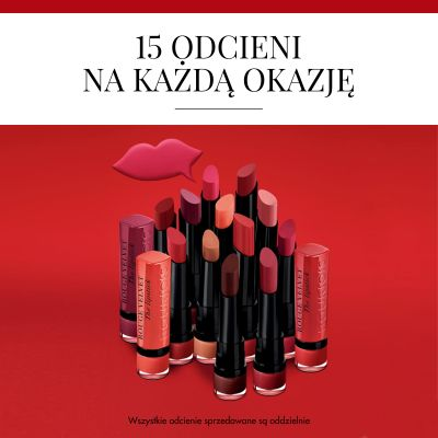 Pomadka do ust Rouge Velvet Bourjois - 02 Flamin G'rose