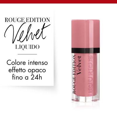 Rouge Edition Velvet. 10 Don't pink of it !