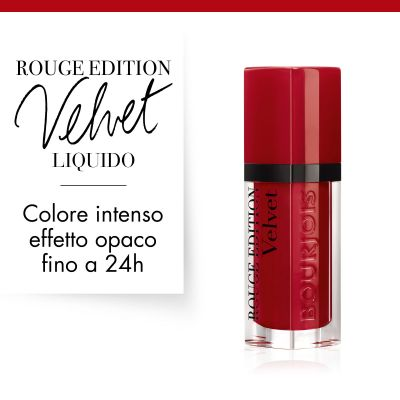 Rouge Edition Velvet. 15 Red-volution