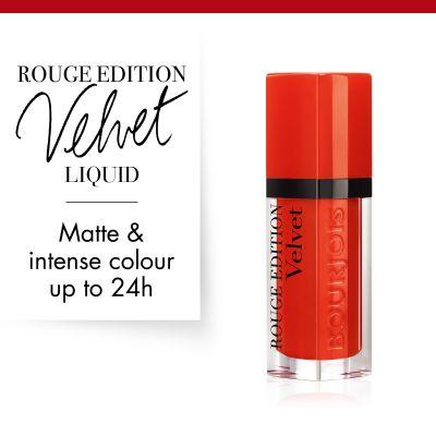 Rouge Edition Velvet 20 Poppy days | Bourjois