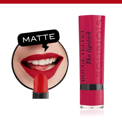 Rouge Velvet The Lipstick. 09 Fuchsia botté