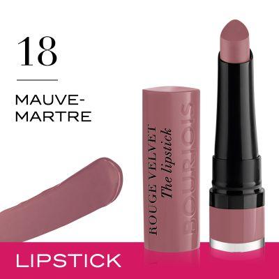 Rouge Velvet The Lipstick 18 Mauve Martre Bourjois